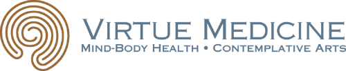 Virtue Medicine Iowa City logo footer